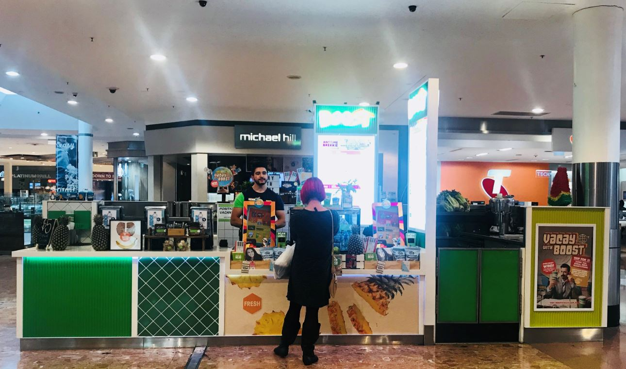 Private: Campbelltown Mall, NSW – Existing Store