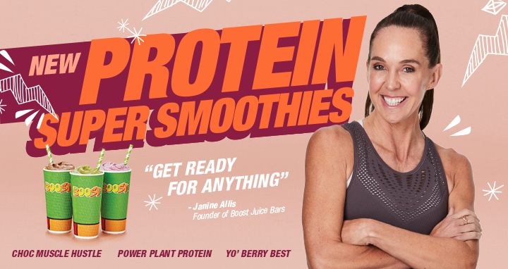 Protein Super Smoothies!