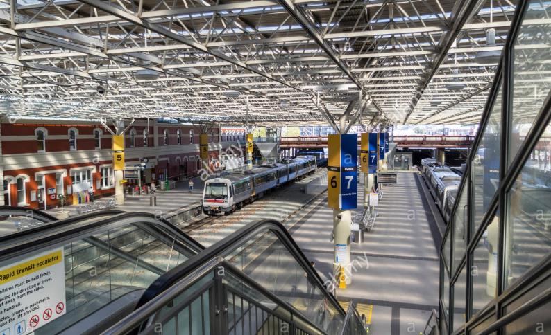 Perth central train station, WA