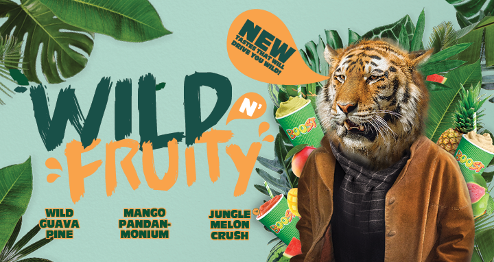 Wild n' Fruity – New tastes that will drive you wild!