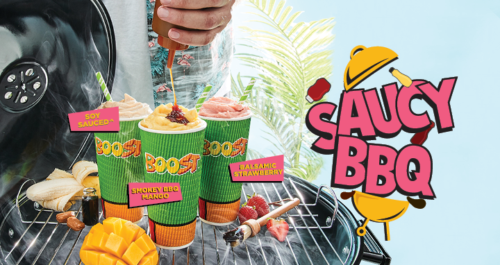 Saucy BBQ – The Backyard Aussie BBQ is now at Boost!