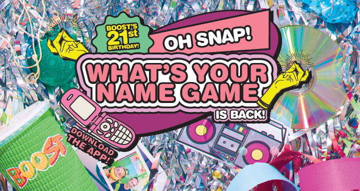 Oh Snap! What's Your Name Game is Back!